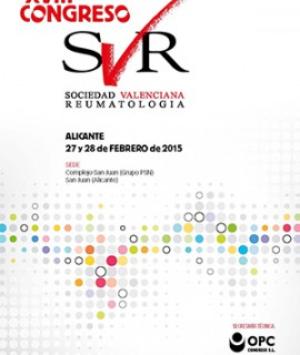 XVIII Congreso SVR - Alicante, 27 y 28 de febrero de 2015