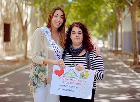 Estefanía Armario, entrevista a Juan Carlos y a su hija Elena en la Asociación de Esclerodermia Castellón