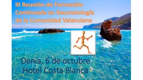 III Reunión de Formación Continuada en Reumatología de la Comunidad Valenciana