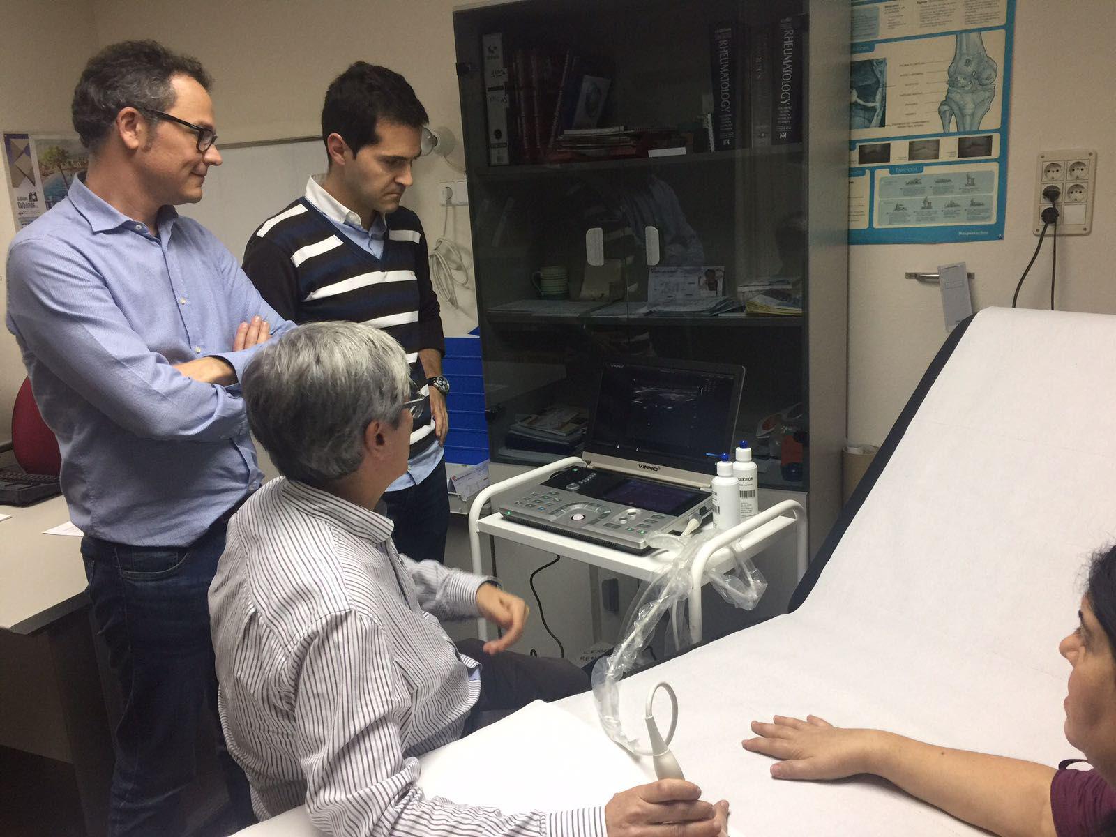 """1er Taller de Ecografía de la SVR: """"Evaluación del Paciente con Artritis Reumatoide"""""""
