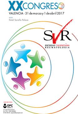 2017 – XX Congreso de la Sociedad Valenciana de Reumatología