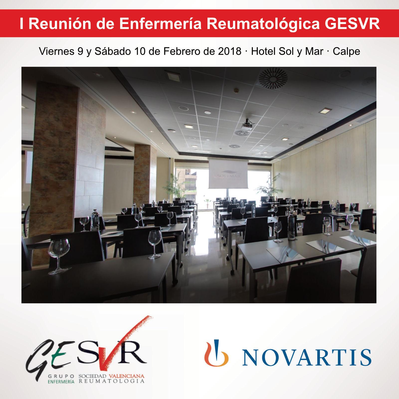 I Reunión de Enfermería Reumatológica GESVR