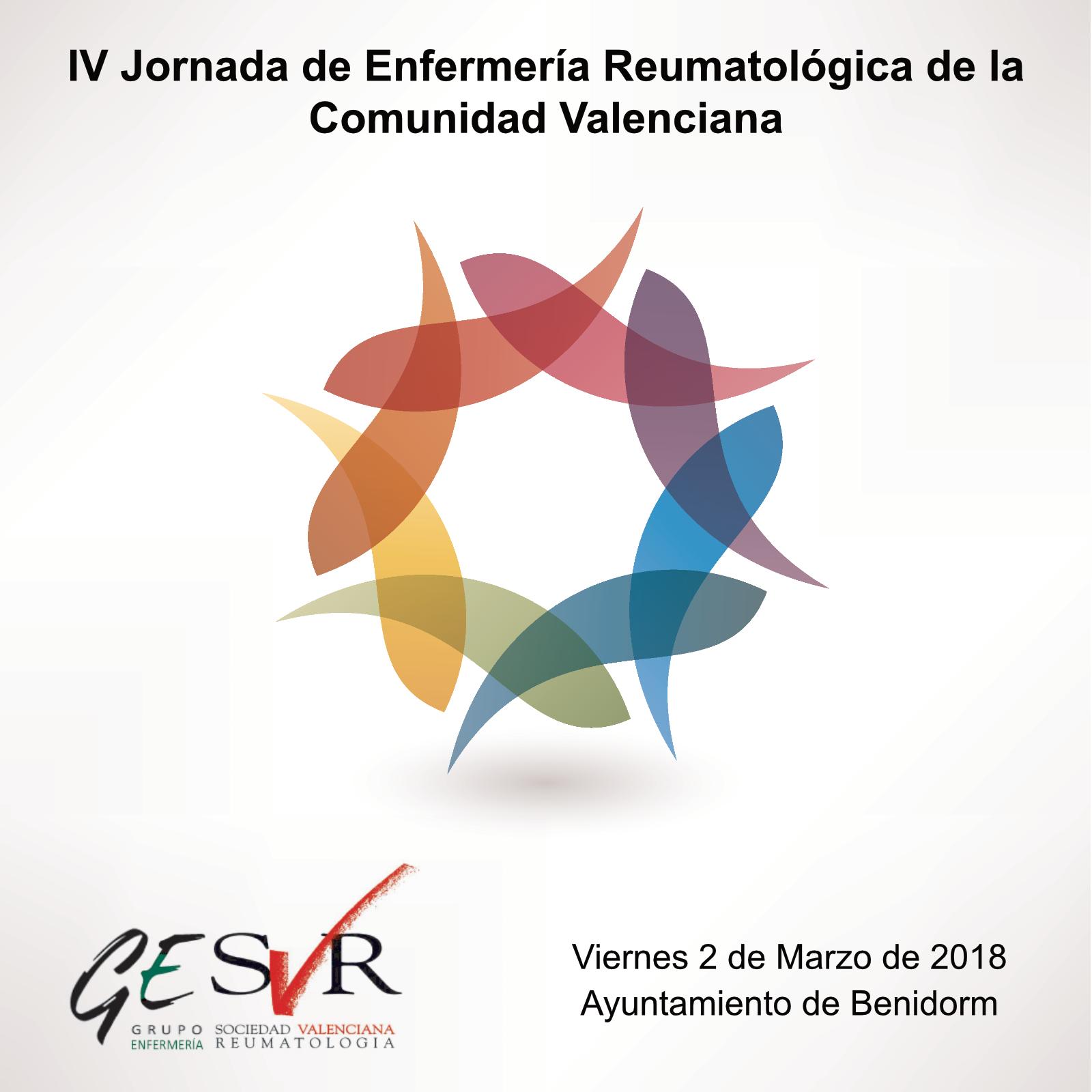 IV Jornada de Enfermería Reumatológica de la Comunidad Valenciana