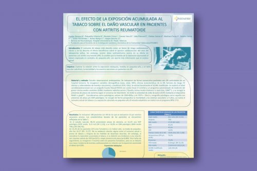 El efecto de la exposición acumulada al tabaco sobre el daño vascular en pacientes con Artritis Reumatoide