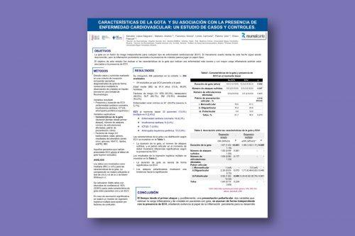 Características de la Gota y su asociación con la presencia de Enfermedad Cardiovascular: un estudio de casos y controles
