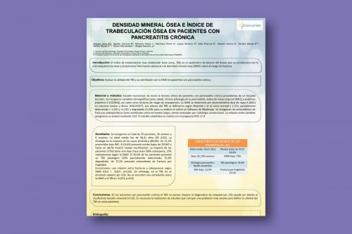 Densidad mineral ósea e índice de trabeculación ósea en pacientes con Pancreatitis Crónica