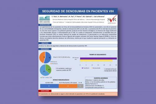 Seguridad de Denosumab en pacientes VIH