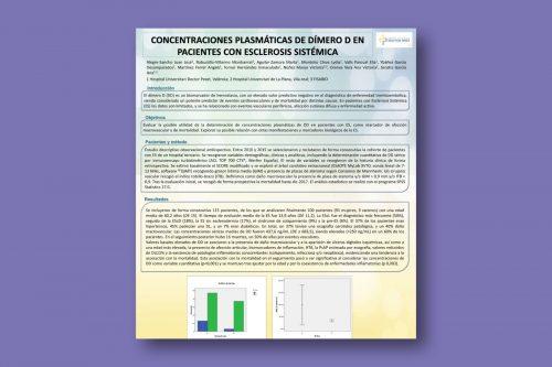 Concentraciones plasmáticas de Dímero D en pacientes con Esclerosis Sistémica