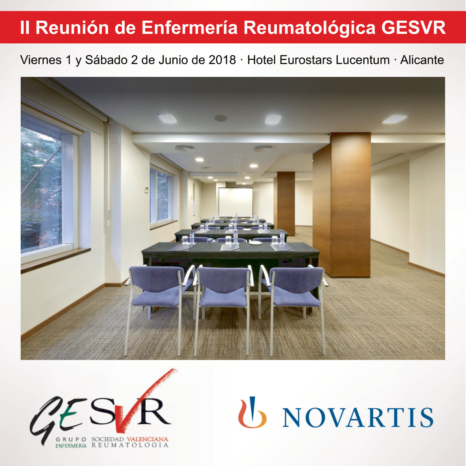 II Reunión de Enfermería Reumatológica GESVR