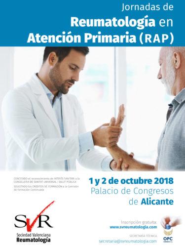 Jornadas de Reumatología en Atención Primaria (RAP)