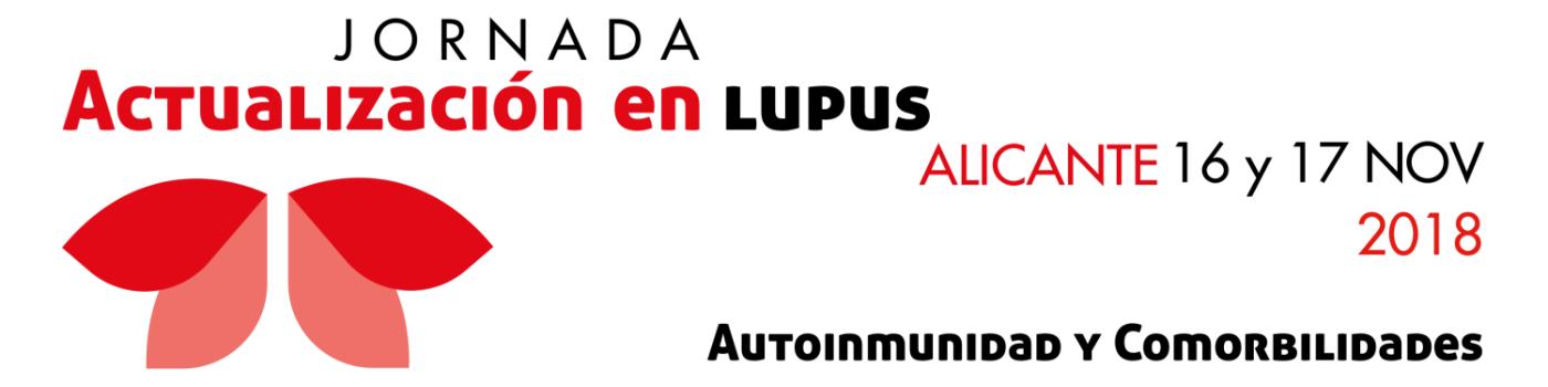 Jornada de Actualización en Lupus 2018