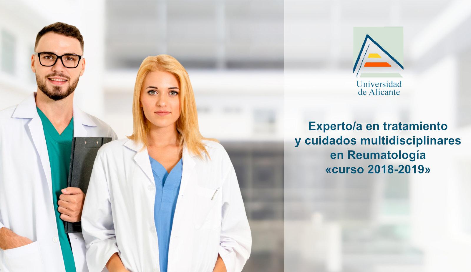 Experto/a en tratamiento y cuidados multidisciplinares en Reumatología (curso 2018-2019)