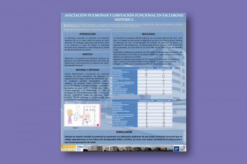 Afectación pulmonar y limitación funcional en esclerosis sistémica