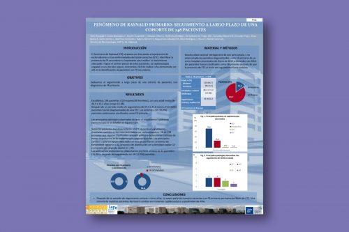 Fenómeno de Raynaud primario: seguimiento a largo plazo de una cohorte de 248 pacientes