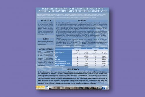 Osteomielitis vertebral en el contexto de endocarditis infecciosa. ¿Qué importancia hay que otorgar al cuadro axial?