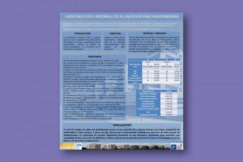 Osteomielitis vertebral en el paciente inmunodeprimido