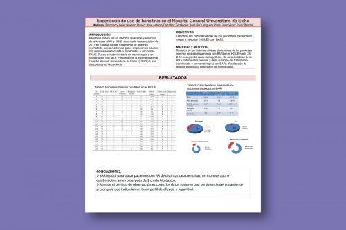 Experiencia de uso de baricitinib (BARI) en el Hospital General Universitario de Elche