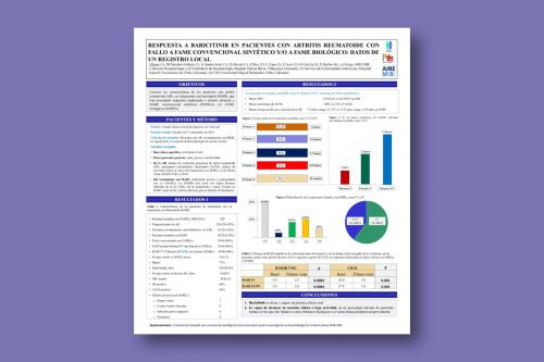 Respuesta a baricitinib en pacientes con artritis reumatoide con fallo a FAME convencional sintético y/o a FAME biológico: datos de un registro local