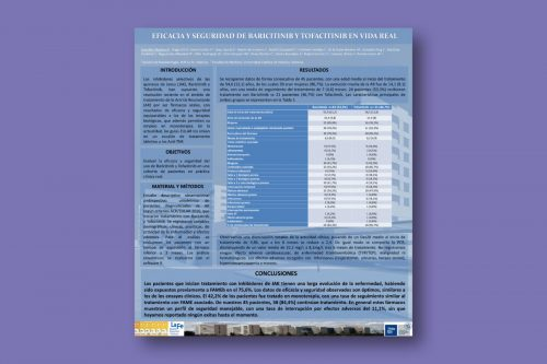 Eficacia y seguridad de baricitinib y tofacitinib en vida real