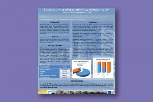 Seguridad infusional de rituximab en pacientes con patología autoinmune