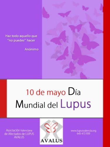 10 de Mayo* día mundial del Lupus