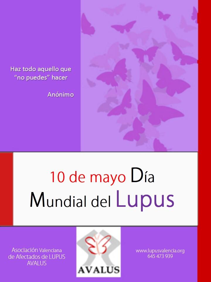 10 de Mayo día mundial del Lupus