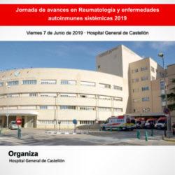 Jornada de avances en Reumatología y enfermedades autoinmunes sistémicas 2019