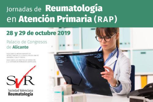 Jornadas de Reumatología en Atención Primaria (RAP) 2019
