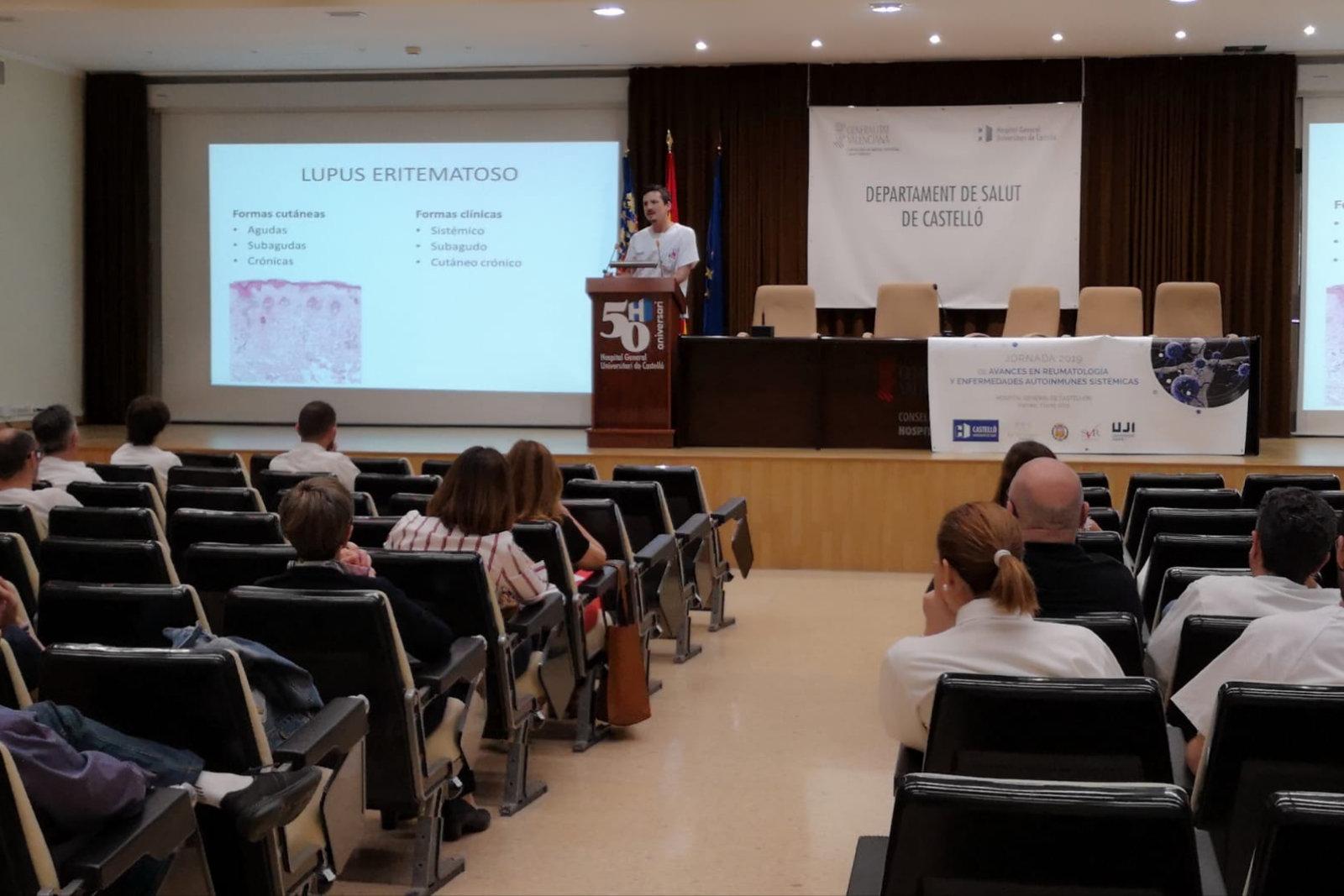 Castellón acoge la III Jornada dedicada a presentar los últimos avances en Reumatología y enfermedades autoinmunes sistémicas