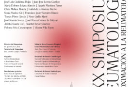 XXX Simposium Reumatología - Aproximación a la Reumatología