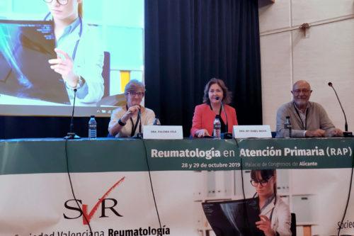 Éxito de las II Jornadas de Reumatología en Atención Primaria (RAP), con una elevada asistencia en sus dos días
