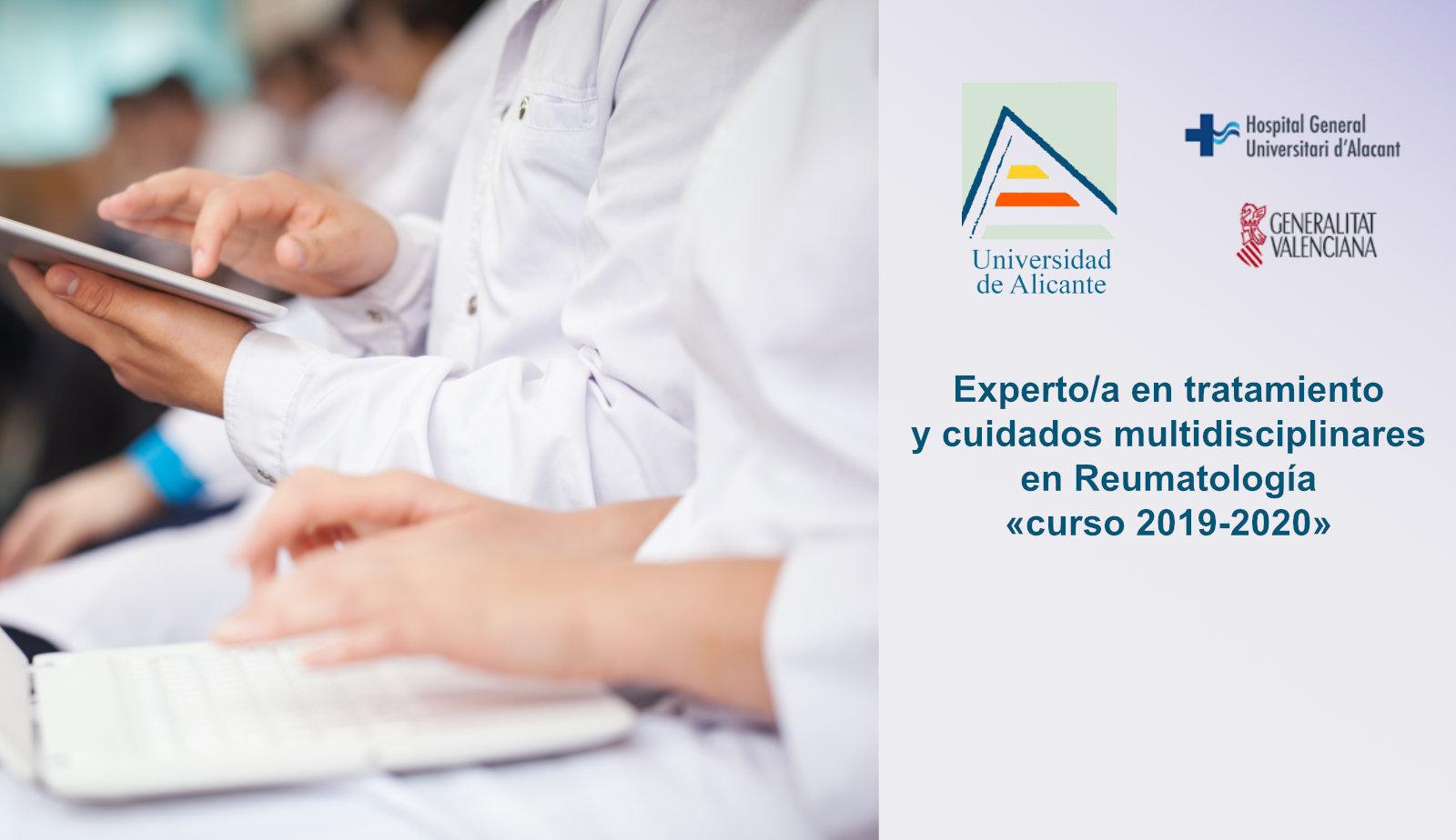 Experto/a en tratamiento y cuidados multidisciplinares en Reumatología (curso 2019-2020)