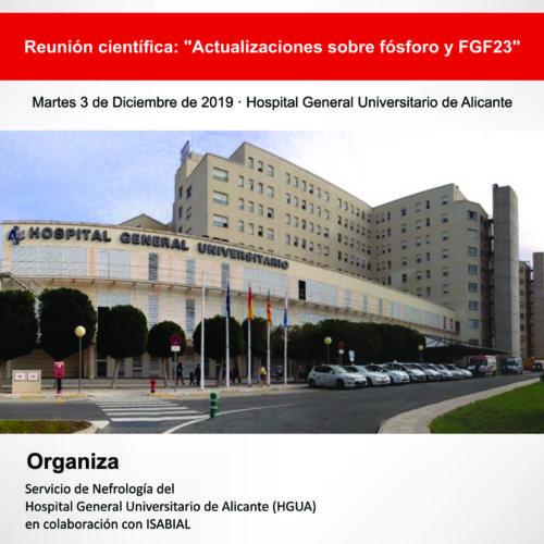 """Reunión científica: """"Actualizaciones sobre fósforo y FGF23"""""""