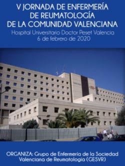 V Jornada de Enfermería de Reumatología de la Comunidad Valenciana