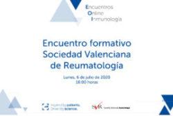 Encuentro formativo Sociedad Valenciana de Reumatología (webinar)