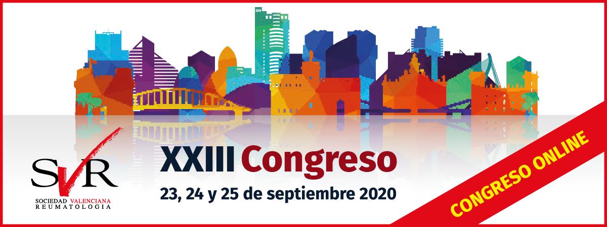 XXIII Congreso de la Sociedad Valenciana de Reumatología