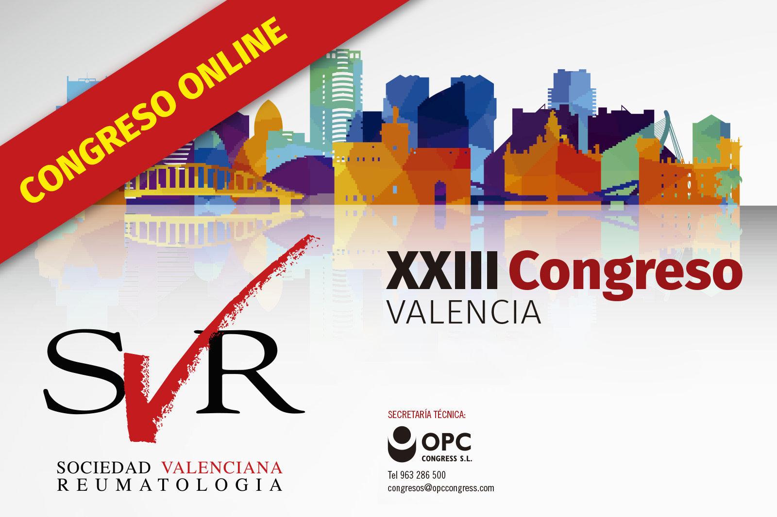 2020 – XXIII Congreso de la Sociedad Valenciana de Reumatología
