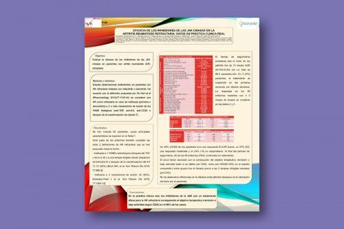 Eficacia de los inhibidores de las JAK cinasas en la artritis reumatoide refractaria: datos en práctica clínica real
