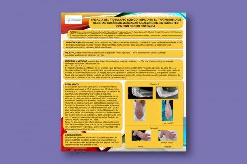 Eficacia del tiosulfato sódico tópico en el tratamiento de úlceras cutáneas asociadas a calcinosis, en pacientes con esclerosis sistémica