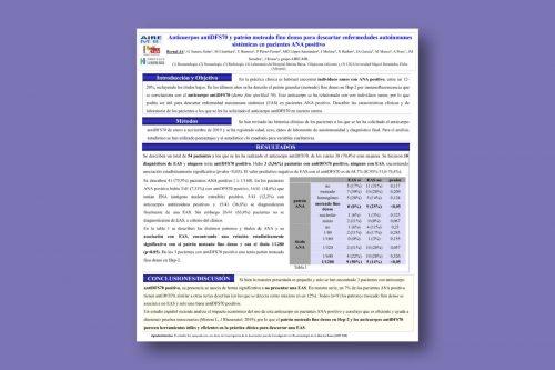 Anticuerpos antiDFS70 y patrón moteado fino denso para descartar enfermedades autoinmunes sistémicas en pacientes ANA positivo