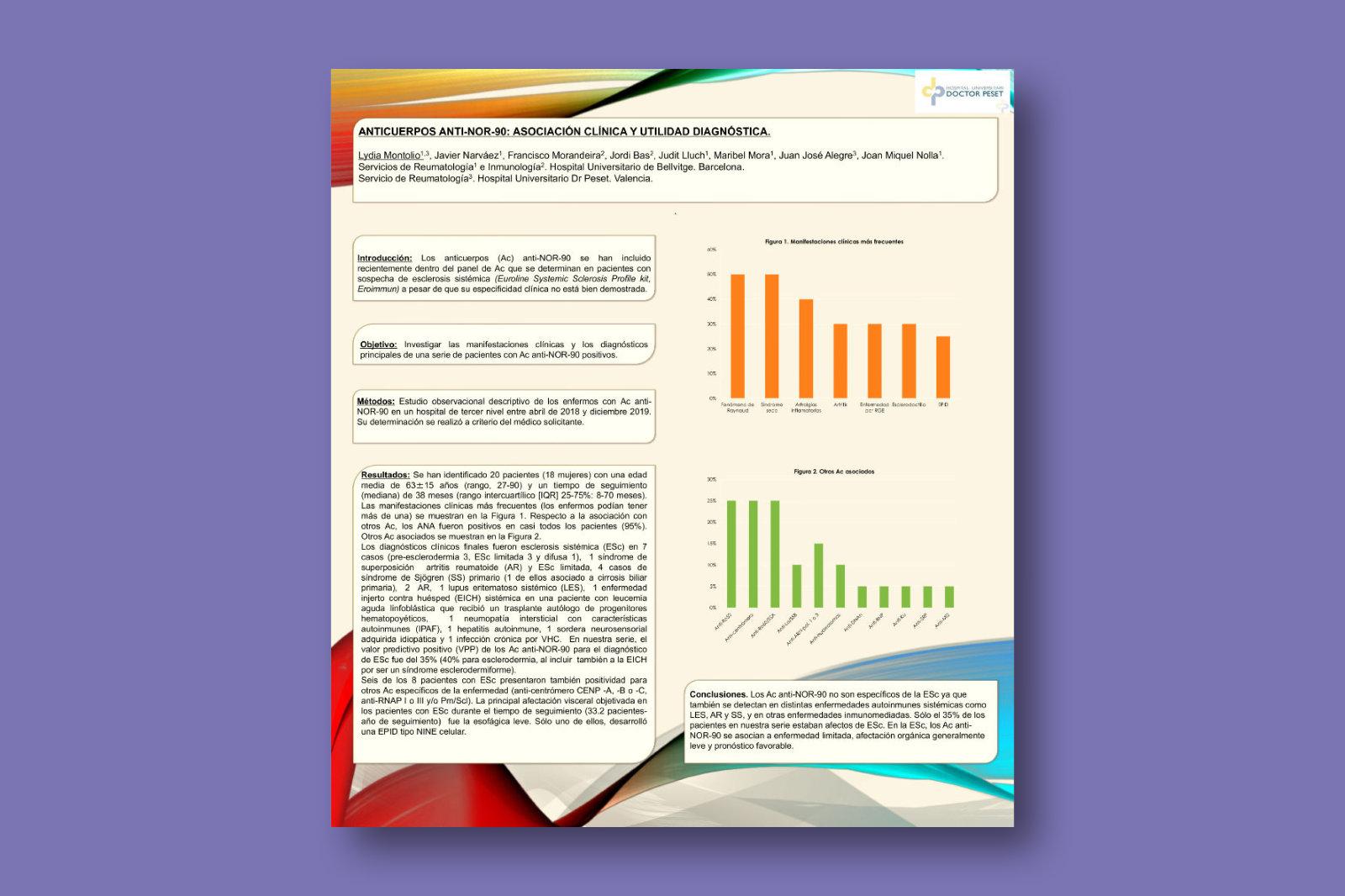 Anticuerpos anti-NOR-90: asociación clínica y utilidad diagnóstica