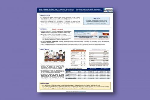 Arteriosclerosis carotídea y signos ecográficos de depósito de cristales de urato en pacientes con gota: estudio de asociación
