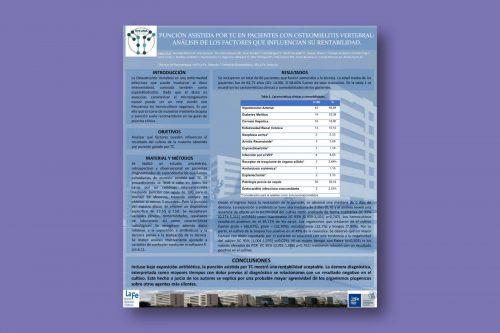 Punción asistida por TC en pacientes con osteomielitis vertebral: análisis de los factores que influencian su rentabilidad