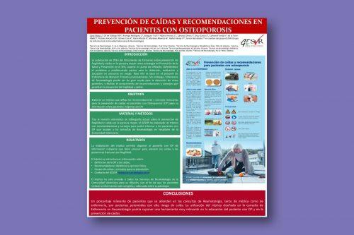 Prevención de caídas y recomendaciones en pacientes con osteoporosis