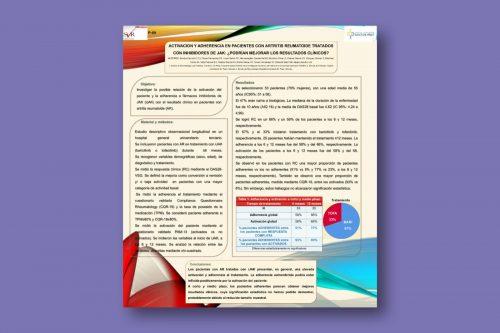 Activación y adherencia en pacientes con artritis reumatoide tratados con inhibidores de JAK: ¿podrían mejorar los resultados clínicos?