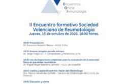 II Encuentro formativo Sociedad Valenciana de Reumatología