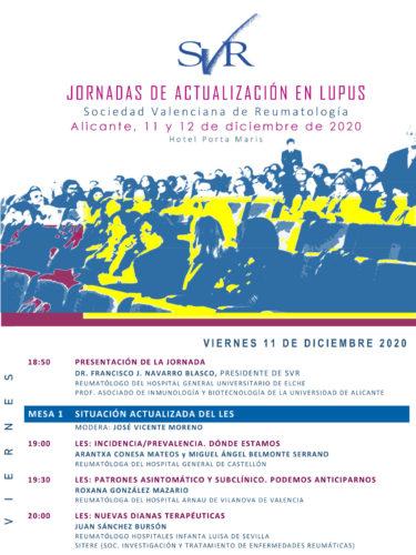Jornada de Actualización en Lupus 2020