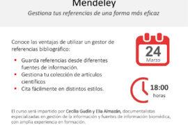 Aula Lilly de información médica: Mendeley, gestiona tus referencias de una forma más eficaz