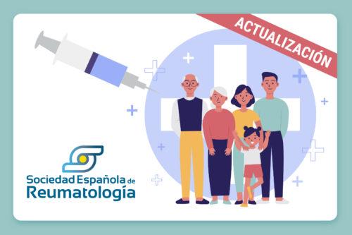 Actualización de recomendaciones en relación con la vacunación contra el SARS-Cov-2 en pacientes reumáticos