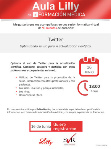 Twitter: Optimizando su uso para la actualización científica